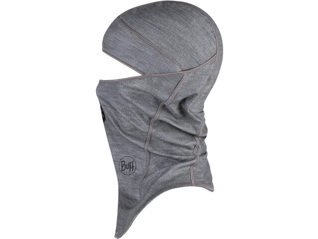 Buff ThermoNet Balaclava solid grey heater